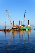 Floating Dredging Platform