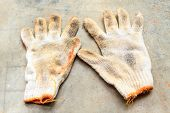 Old Construction Gloves,work Gloves