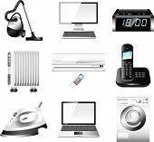 home appliances set