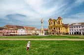 Unirii Square In Timisoara, Romania