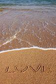 Liefde teken
