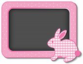 Baby Bunny Rabbit Nursery Bulletin Board