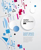 Abstract background EPS10