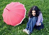 A Girl And A Umbrella