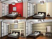 Childs bedroom, 3D rendering