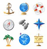 Icons For Sea Travel