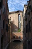 channels and palaces  of Venice