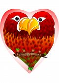 Enamored Parrots