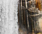 Waterfall And Granite