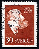 Postage Stamp Sweden 1960 Gustaf Froding, Poet And Writer