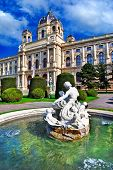 Vienna, beautiful parks