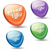 Special Offer Colorful Vector Icon
