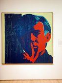 Screen Print Self-portraits Of Andy Warhol