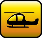 yellow icon with helicopter