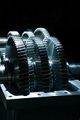 ball bearings and pinion wheels