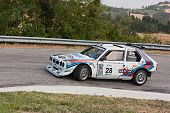 Vintage Racing Car Lancia Dekta S4