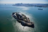 pic of alcatraz  - Alcatraz jail in San Francisco bay in CA - JPG