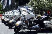 Las Vegas traffic police motorbikes