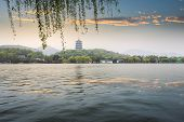 Leifeng Pagoda In Evening Glow