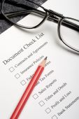 Document Check List