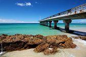 Summer Beach And Pier