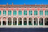SPLIT, CROATIA - JUN 6: Prokurative (Republic square)  on June 6, 2013 in Split, Croatia. It hosts t