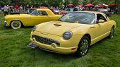 Generations: A 1955 & 2002 Ford Thunderbird, EyesOn Design, MI