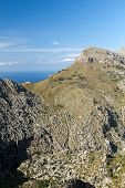 Serra de Tramuntana - mountains on Mallorca Spain