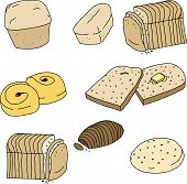 Various Breads And Rolls