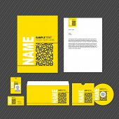 Business template. Vector.