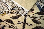 Traditional romanian carpets