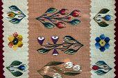 Traditional handmade romanian bookmarks
