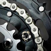 Bike Chainset With  Chain