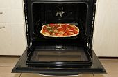 Ready Pizza In Oven