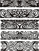 image of celtic  - Animalistic knot designs in celtic style - JPG