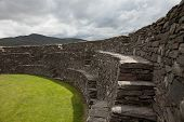 Cahergal ring fort, ring of Kerry, Ireland