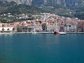 Makarska City From The Sea