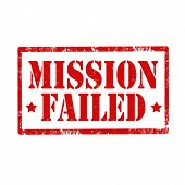 Mission Failed-stamp