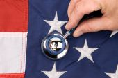 American Flag And Stethoscope