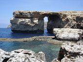 natural stone arch Azure Window, Malta