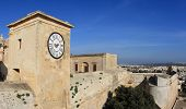 stock photo of gozo  - medieval fortress of Gozo Island in Malta - JPG