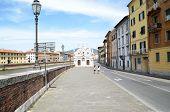 Church Santa Maria de la Spina Pisa,Tuscany Italy