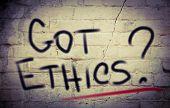 Got Ethics Concept