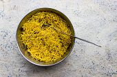 foto of groundnut  - Indian savoury snacks made from gram flour - JPG