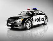 Police 3D Car
