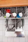 Utensils In Dishwasher