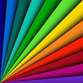 Abstract color background spectrum lines