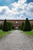 stock photo of ferrara  - The Monumental Graveyard Of Ferrara City - JPG