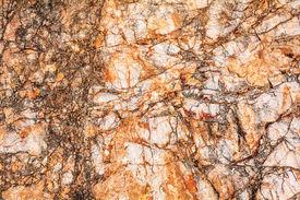 image of feldspar  - Stone texture of granite igneous rock for background - JPG