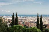Beautiful iew of Barcelona